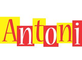 Antoni errors logo