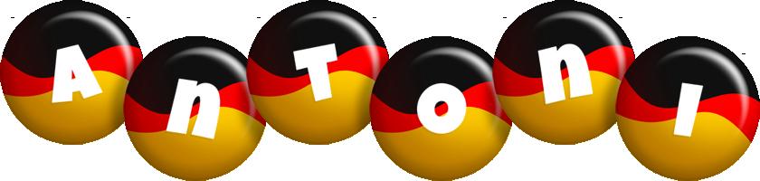 Antoni german logo