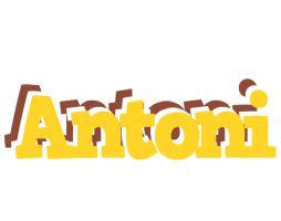 Antoni hotcup logo