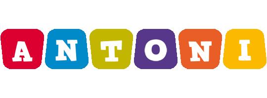 Antoni kiddo logo