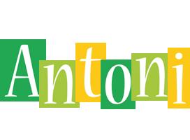 Antoni lemonade logo