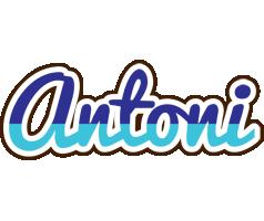 Antoni raining logo