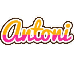 Antoni smoothie logo