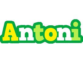 Antoni soccer logo