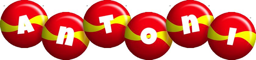 Antoni spain logo