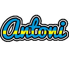 Antoni sweden logo