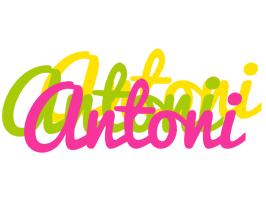 Antoni sweets logo