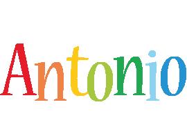 Antonio birthday logo