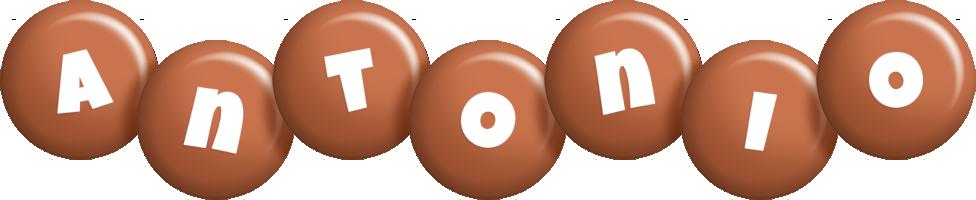 Antonio candy-brown logo