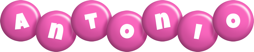 Antonio candy-pink logo