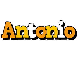 Antonio cartoon logo