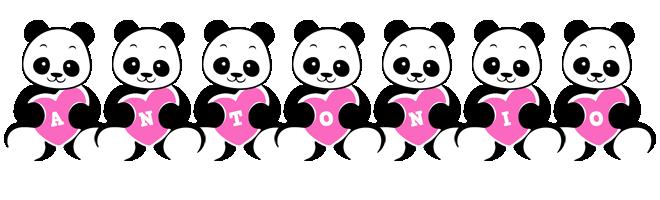 Antonio love-panda logo