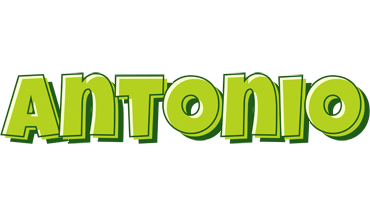 Antonio summer logo
