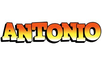 Antonio sunset logo