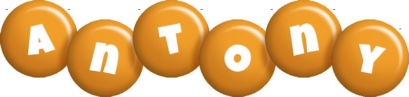 Antony candy-orange logo