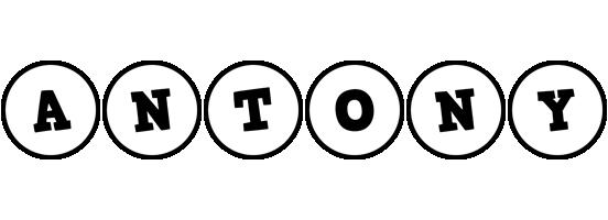 Antony handy logo