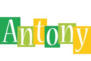 Antony lemonade logo