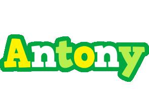 Antony soccer logo