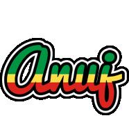 Anuj african logo