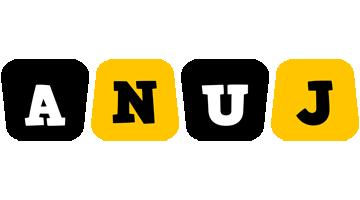 Anuj boots logo