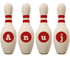 Anuj bowling-pin logo