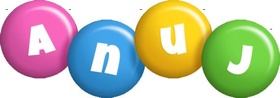 Anuj candy logo