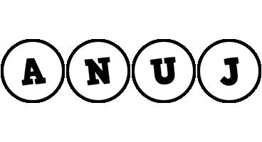 Anuj handy logo
