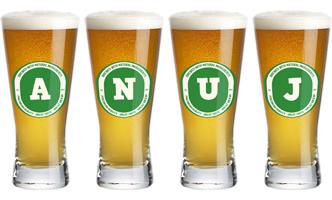Anuj lager logo