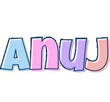 Anuj pastel logo