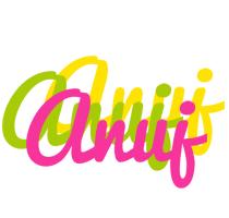 Anuj sweets logo