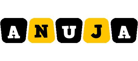 Anuja boots logo