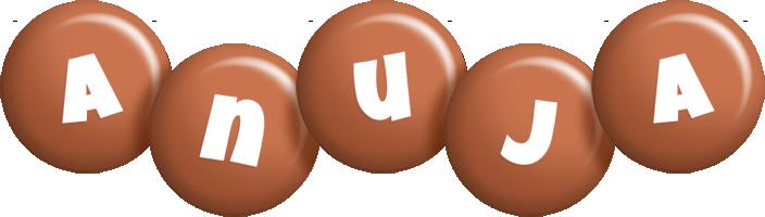 Anuja candy-brown logo
