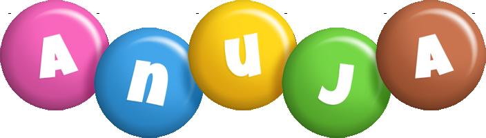 Anuja candy logo