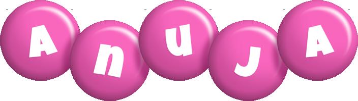 Anuja candy-pink logo