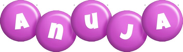 Anuja candy-purple logo