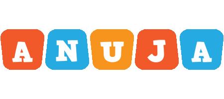 Anuja comics logo