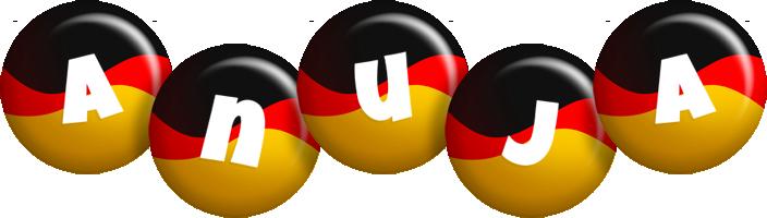 Anuja german logo