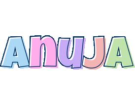 Anuja pastel logo