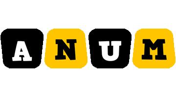 Anum boots logo