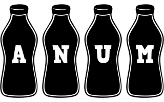 Anum bottle logo