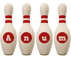 Anum bowling-pin logo