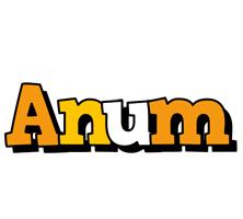 Anum cartoon logo
