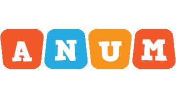 Anum comics logo