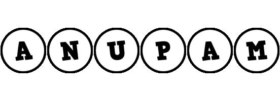 Anupam handy logo