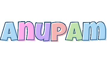 Anupam pastel logo