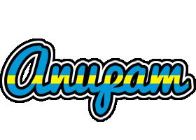 Anupam sweden logo
