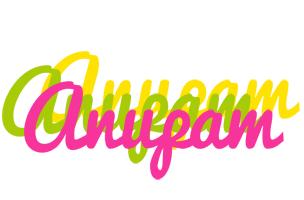 Anupam sweets logo