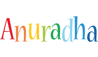 Anuradha birthday logo