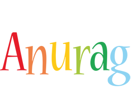 Anurag birthday logo