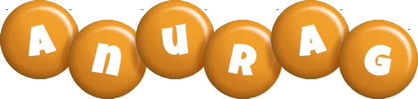 Anurag candy-orange logo
